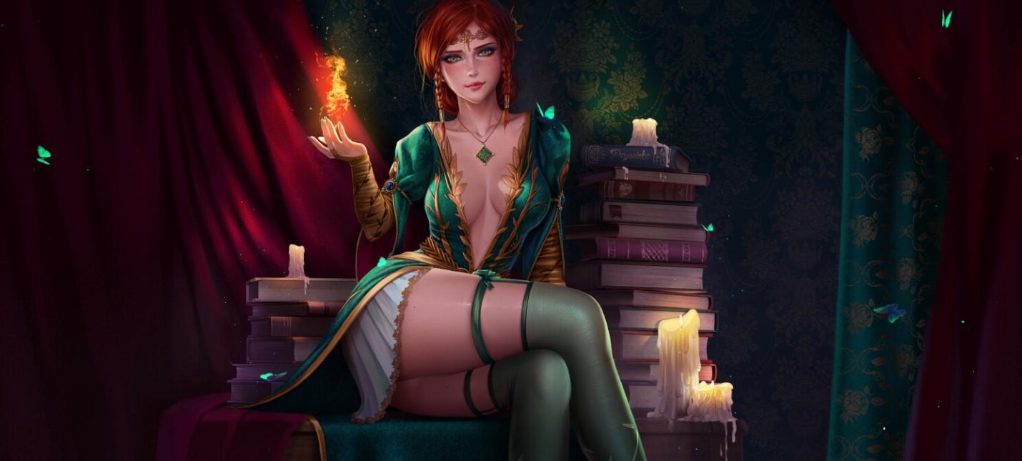 Фантастические миры: Красивые девушки и пинап от Prywinko