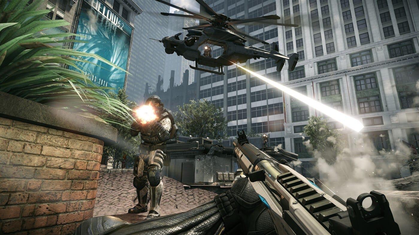 Свежие скриншоты ремастера Crysis 2