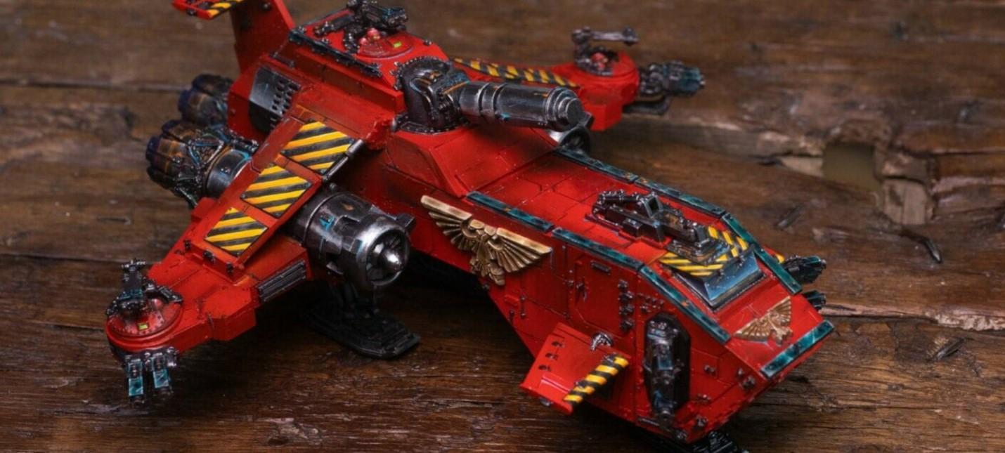 Очень редкую модель для Warhammer 40000 продали за 35 тысяч долларов