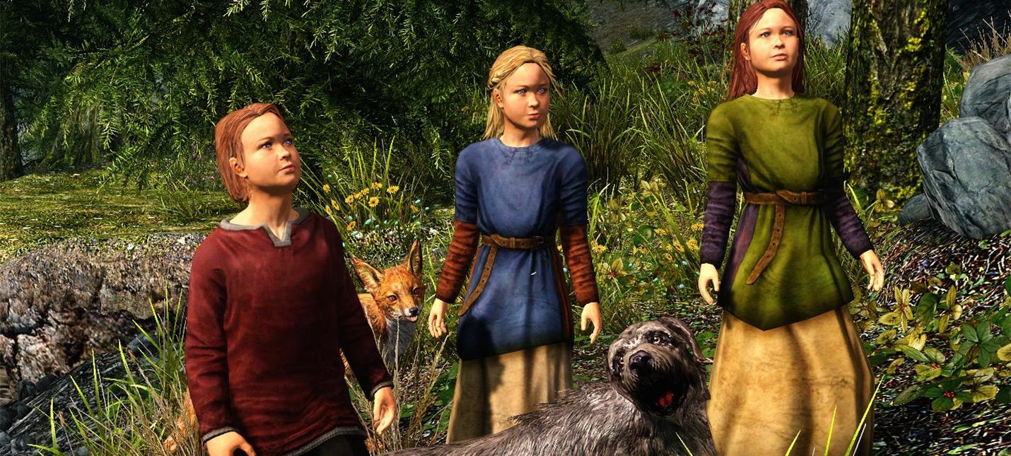 Поклонница Skyrim пожаловалась, что внутриигровой сын чуть не убил ее персонажа кинжалом