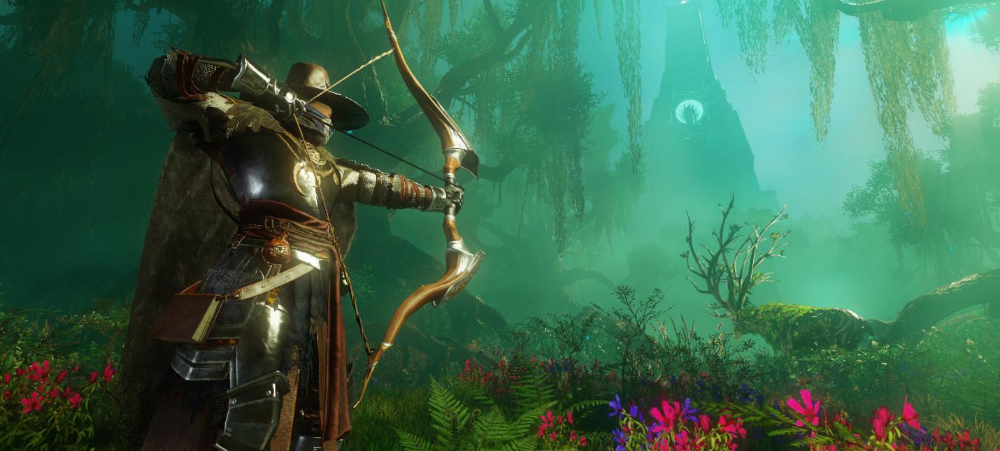 Игроки New World смогут бесплатно перенести своего персонажа на другой сервер во избежание очередей