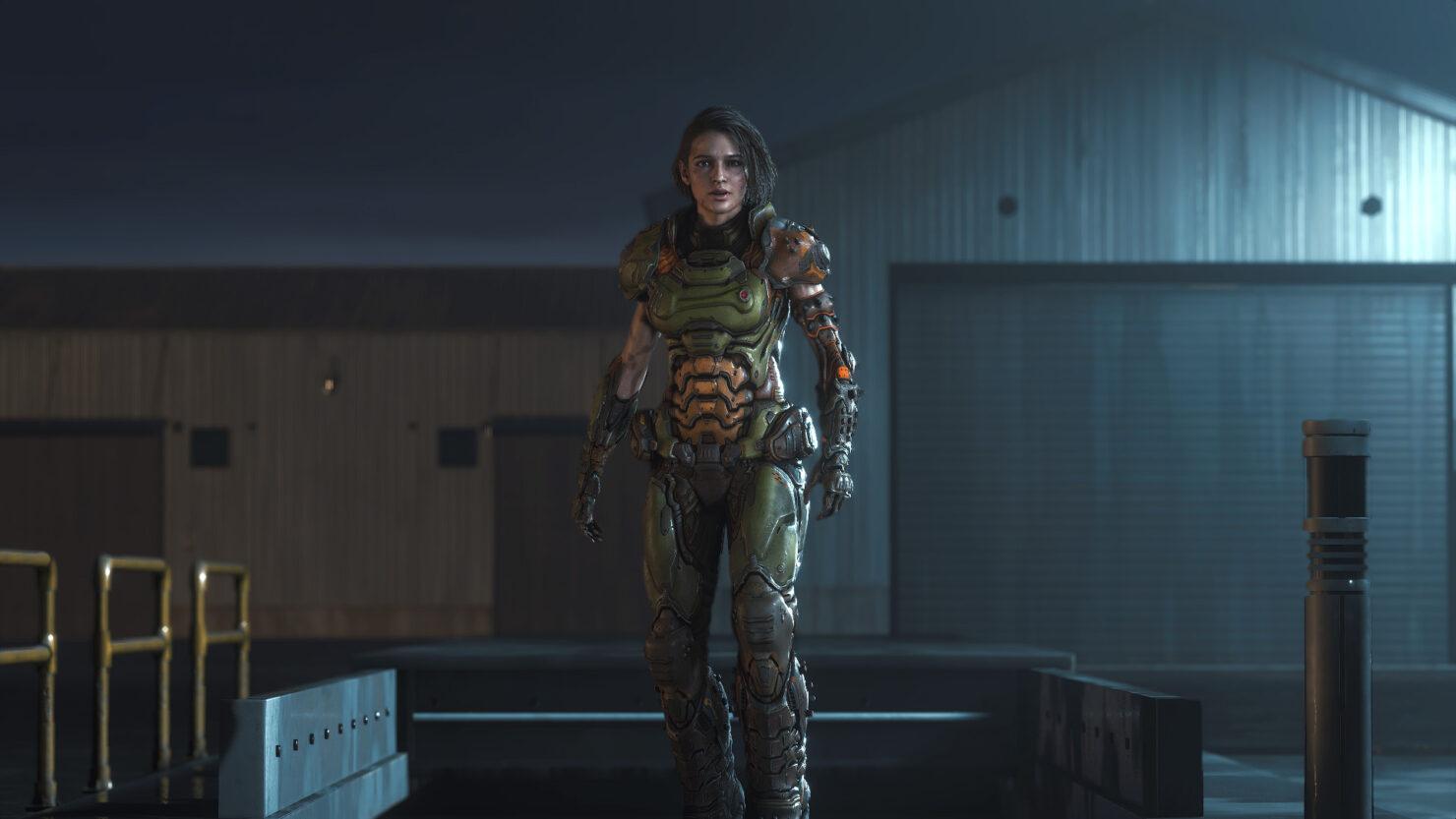 Классный костюм Думслеера для Джилл Валентайн из Resident Evil 3