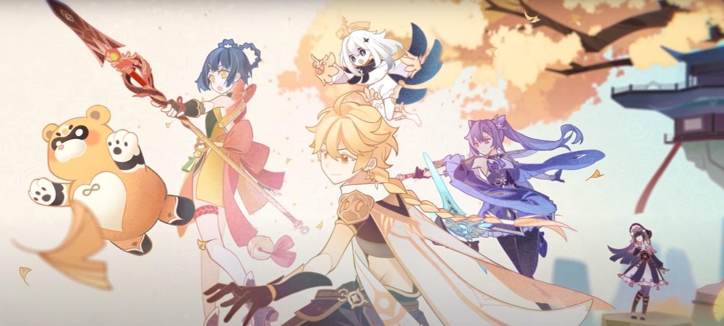 Сюжетные ролики и геймплей обновления 2.2 для Genshin Impact