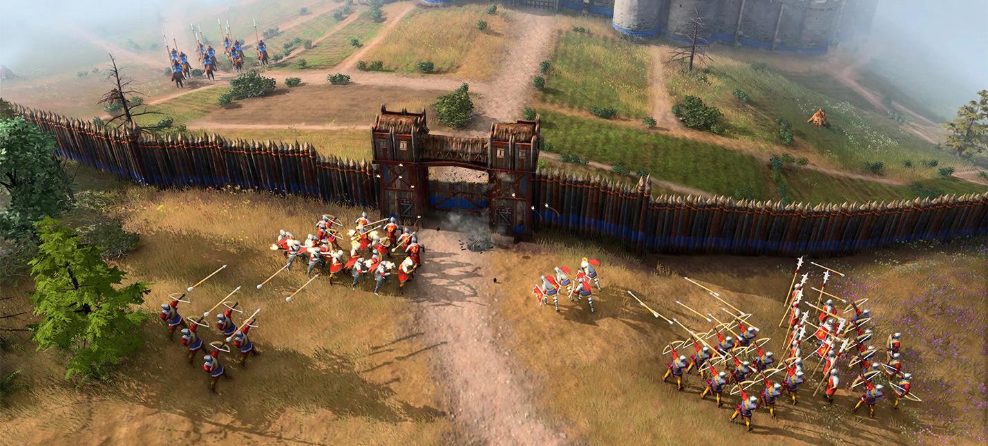 Геймер собрал таблицу характеристик юнитов и строений в Age of Empires 4
