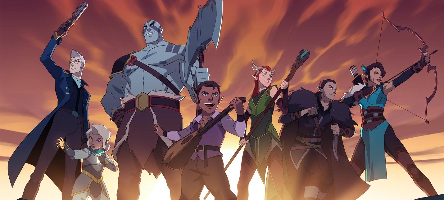Трейлер аниме The Legend of Vox Machina по мотивам DampD-кампании Critical Role
