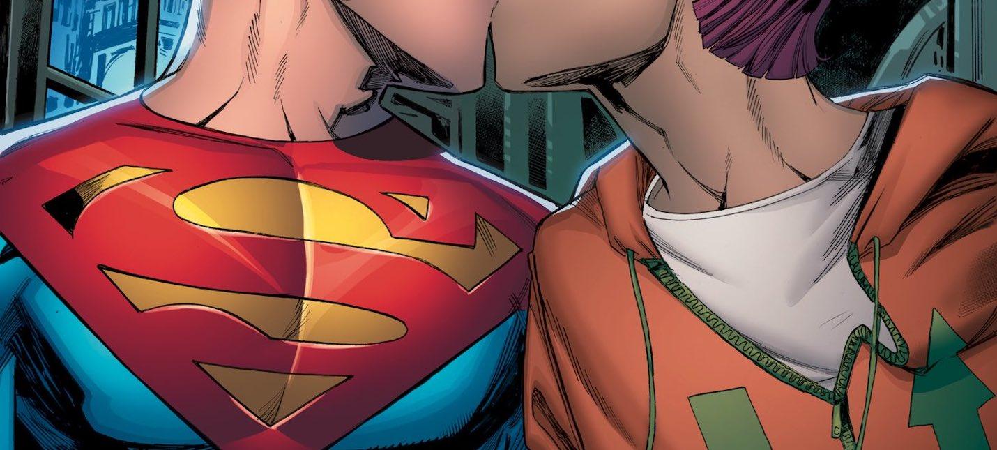 В новом комиксе Супермен сделает каминг-аут и заведет роман с репортером