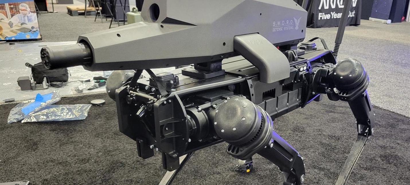 Встречайте нашего нового властелина — робота-пса с автоматом на спине