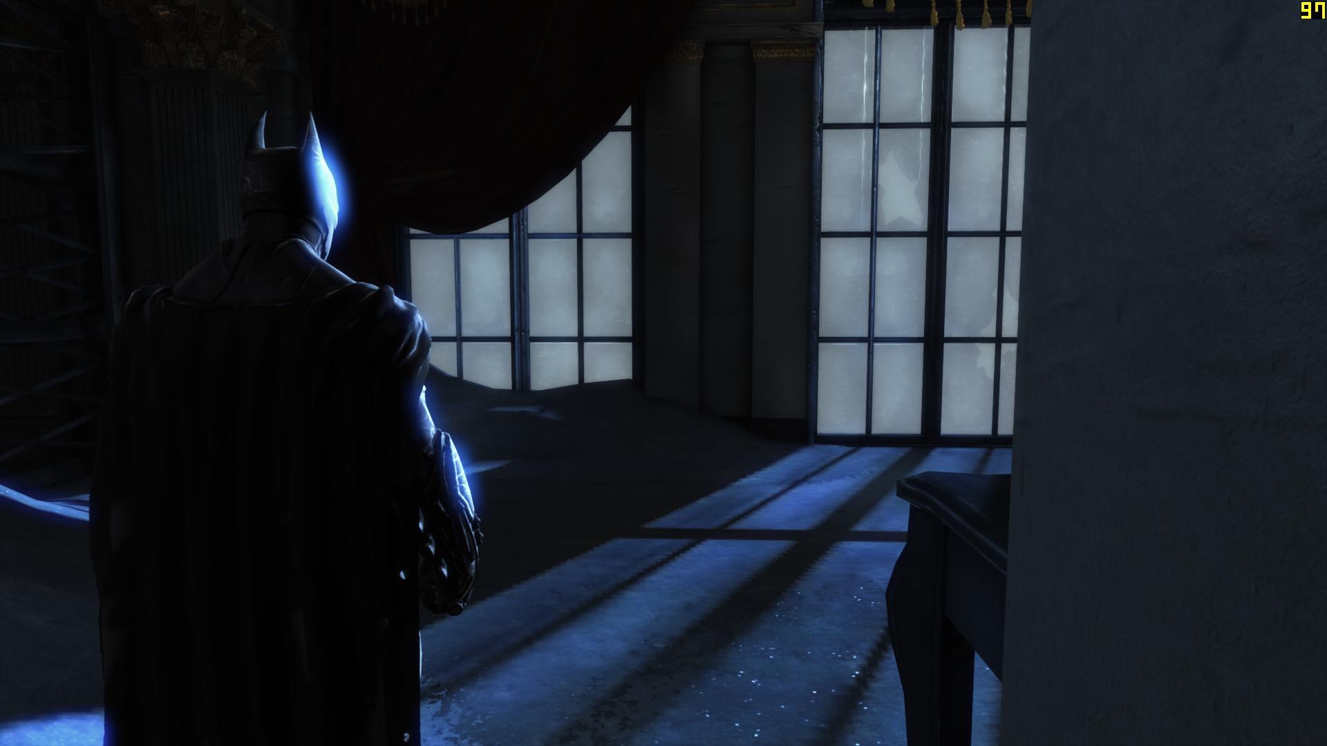 Сравнение графики batman arkham origins pc и