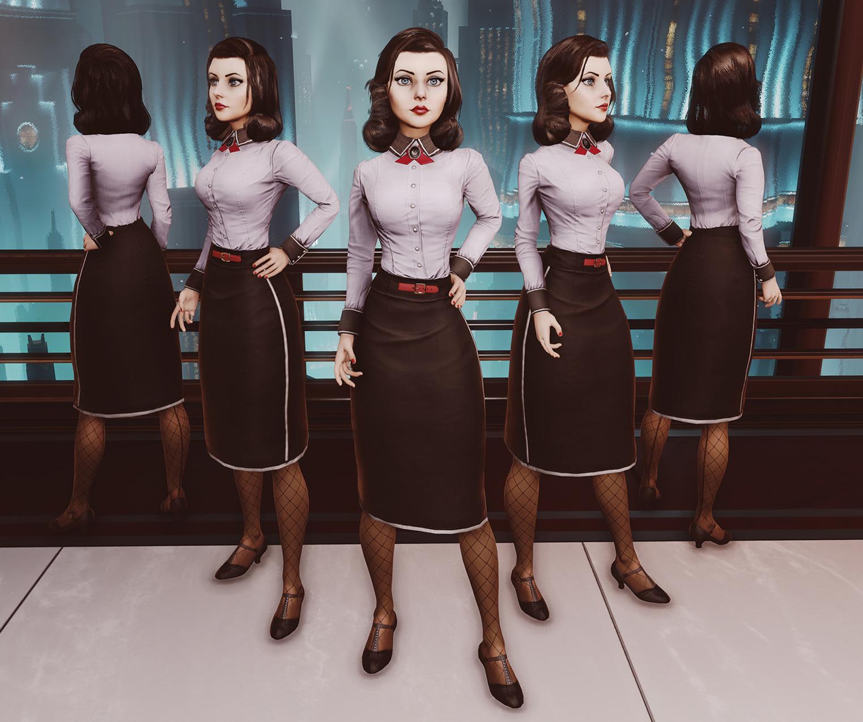 Мастер модели персонажей bioshock infinite