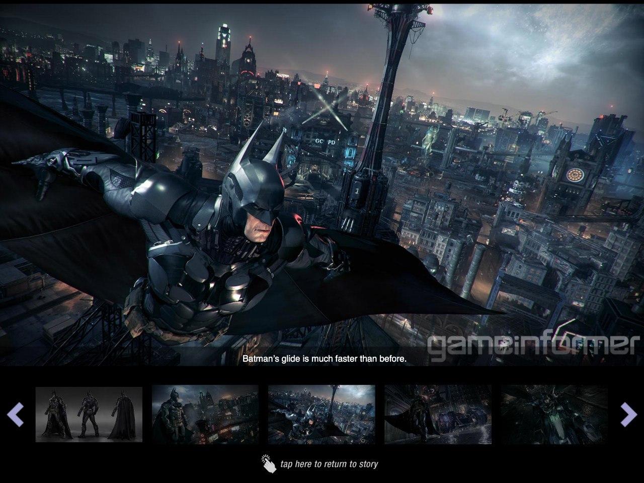 Новые арты и скриншоты batman arkham knight