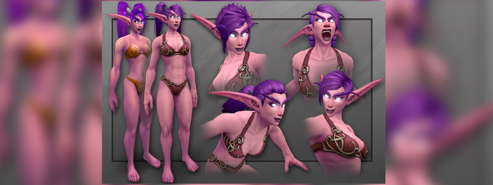 Nude night elf with big hairy pussy hentai comics