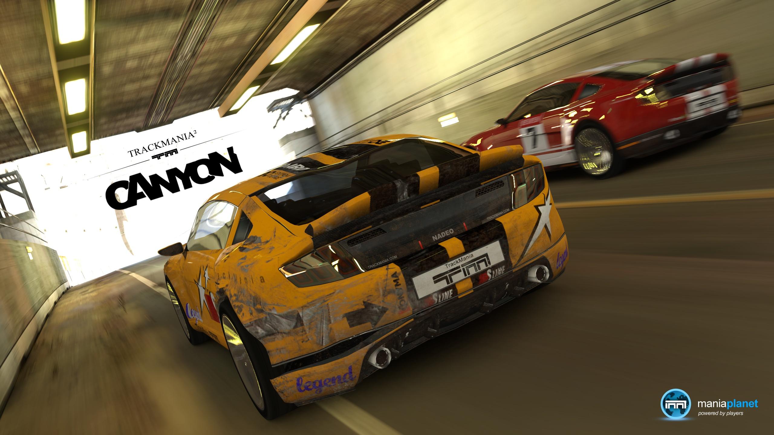 Скачать бесплатно TrackMania. Canyon (2011/RUS/ENG/Multi20) без