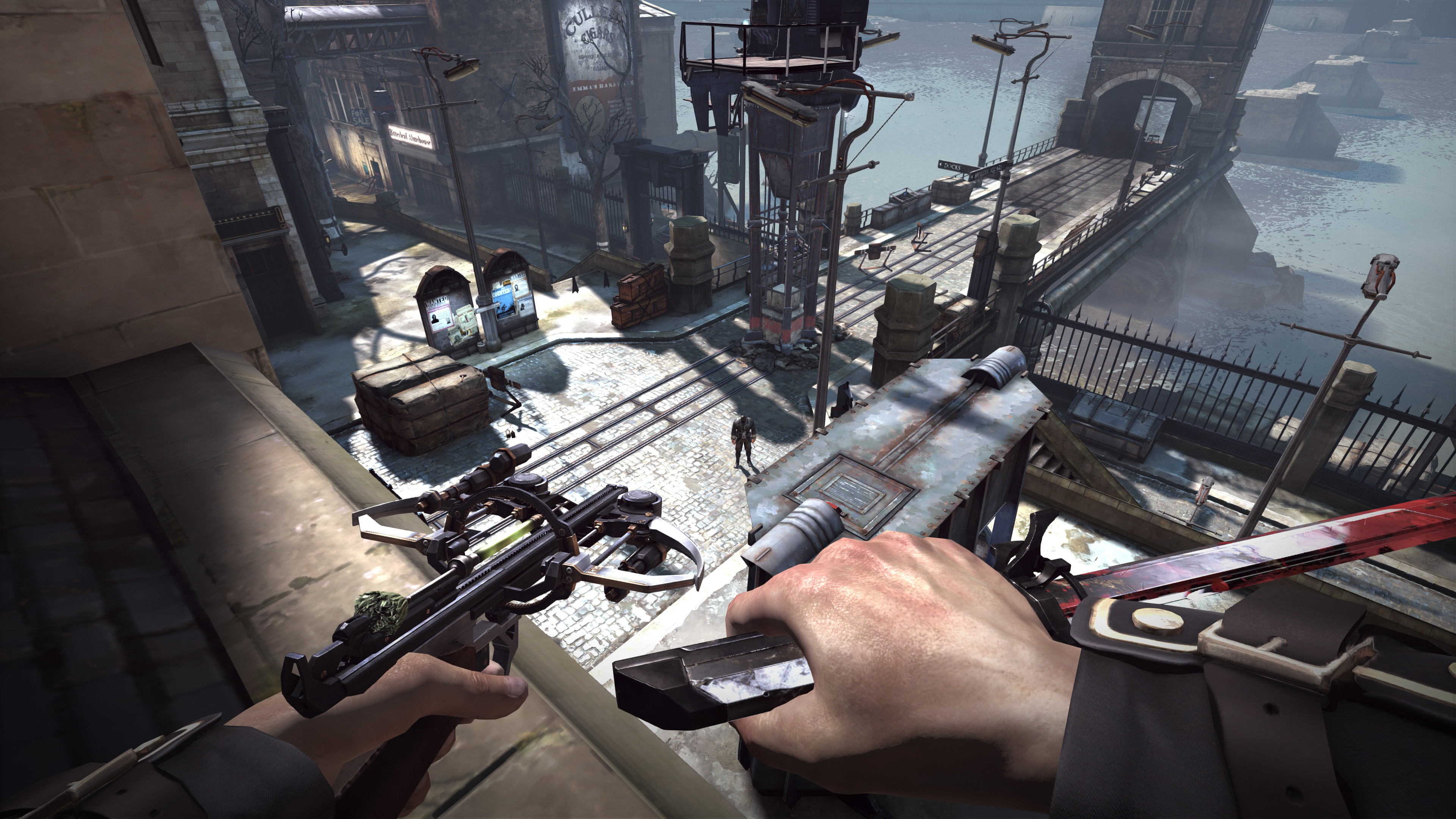 Игра Dishonored 2 графика онлайн
