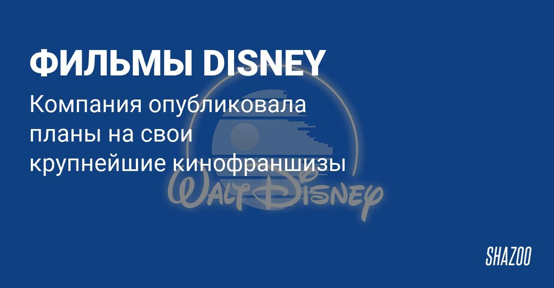 Disney назвала даты новых фильмов Marvel и Star Wars
