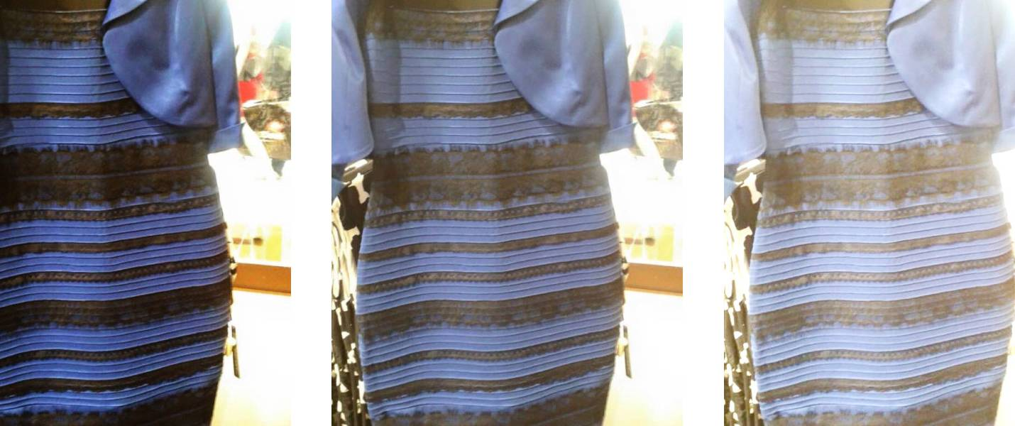 Что это за платье меняющее цвет