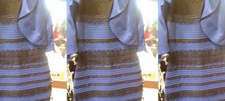 Но что же с цветом платья
