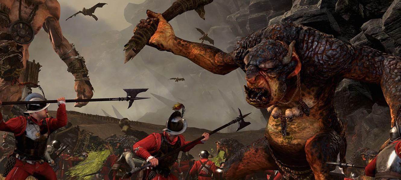 Первый трейлер Total War: Warhammer на движке