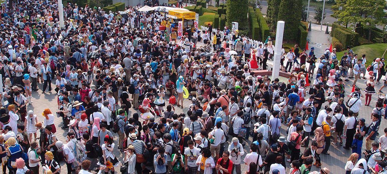 Как пережить летний Comiket в Токио