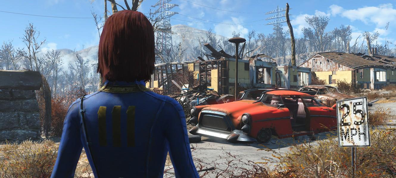 Первые впечатления от игры в Fallout 4: размер мира, стрельба, крафтинг и другое