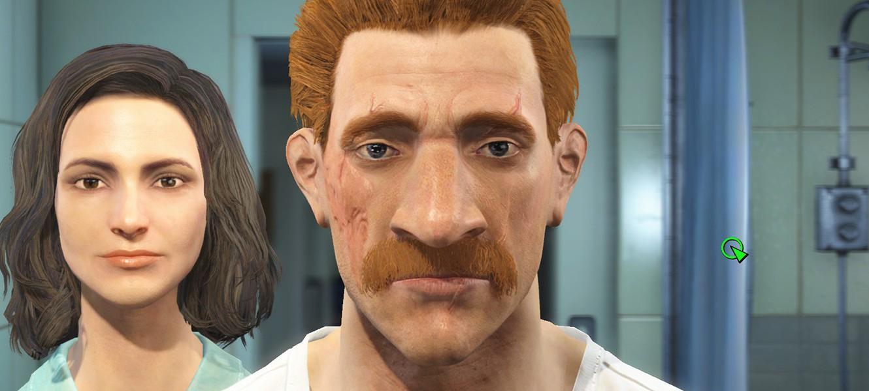 Покажите свои лица в Fallout 4... и поделитесь статами