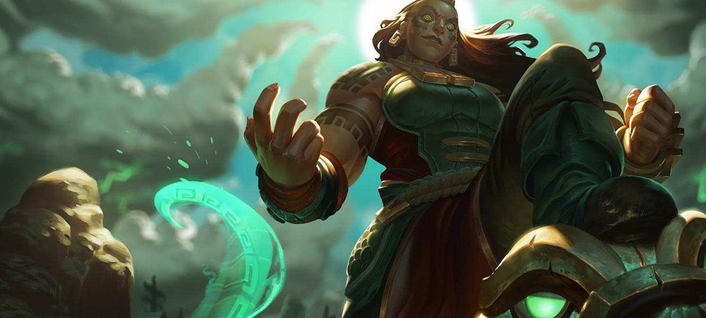 Иллаой — новый чемпион League of Legends