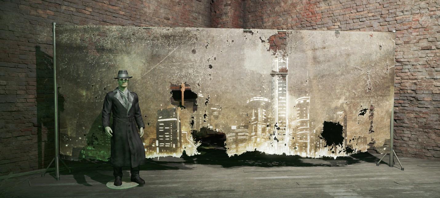 Fallout 4: Костюм Silver Shroud