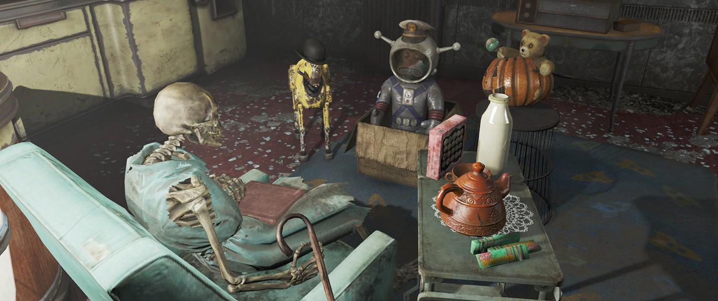 На некоторое оружие Fallout 4 можно накладывать два легендарных эффекта