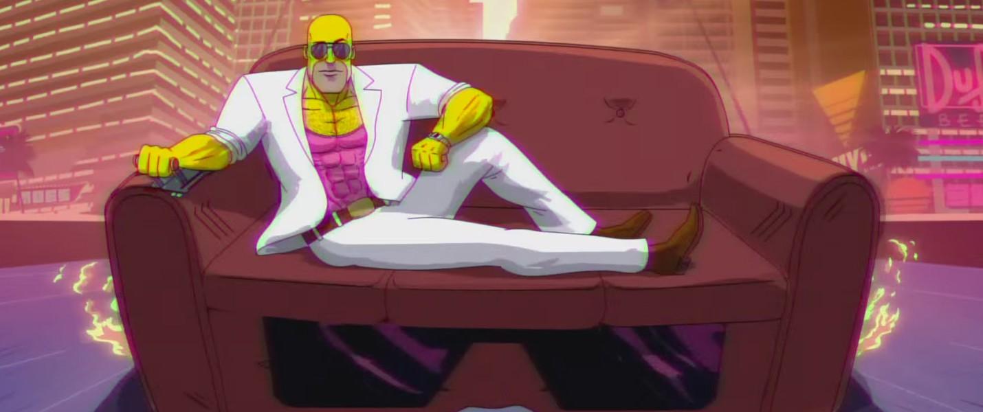 LA-Z Rider: Гомер Симпсон и его верный диван