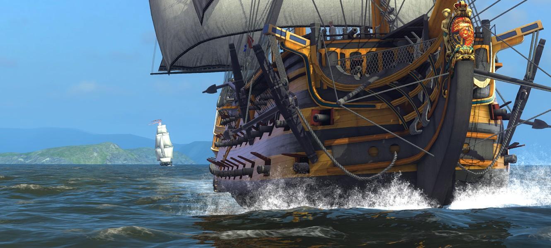 Naval Action вышла в раннем доступе в Steam