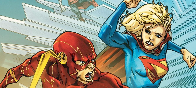 Флэш и Супергерл встретятся в кроссовере