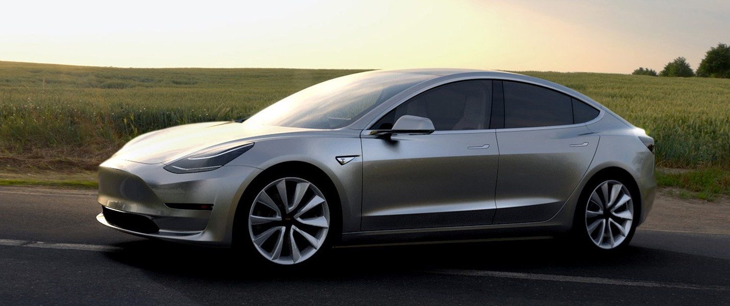Заказано уже 400 тысяч автомобилей Tesla Model 3
