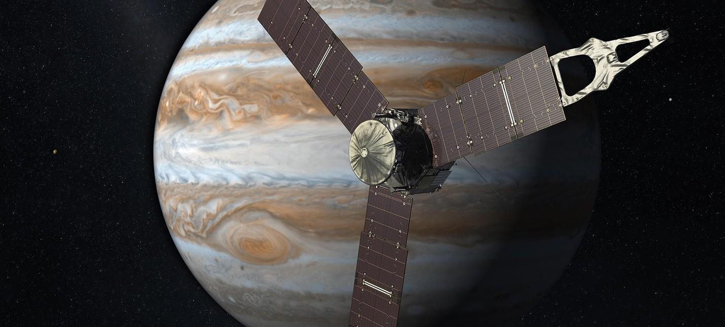 Звуки космоса: вход в магнитное поле Юпитера
