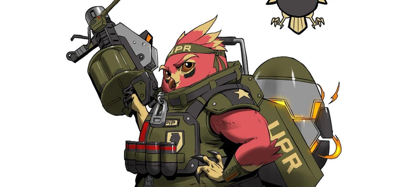 Новый персонаж Battleborn cхож c подрывником из TF2