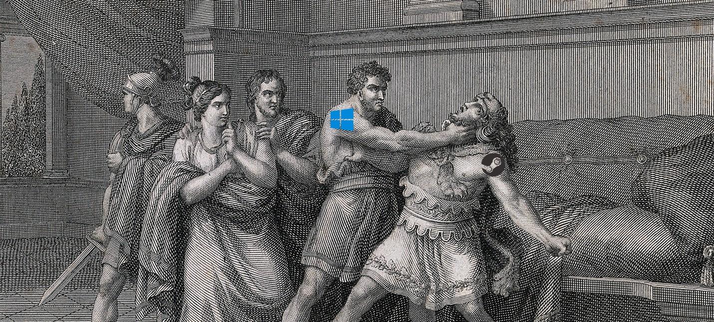 Слух: Microsoft уже начала травить Steam на Windows 10