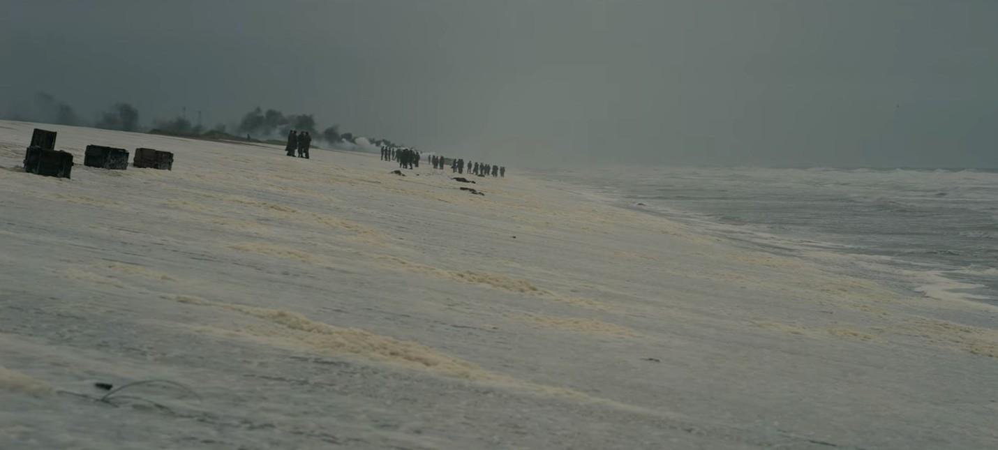 Холодные воды Северного моря в тизере Dunkirk Кристофера Нолана