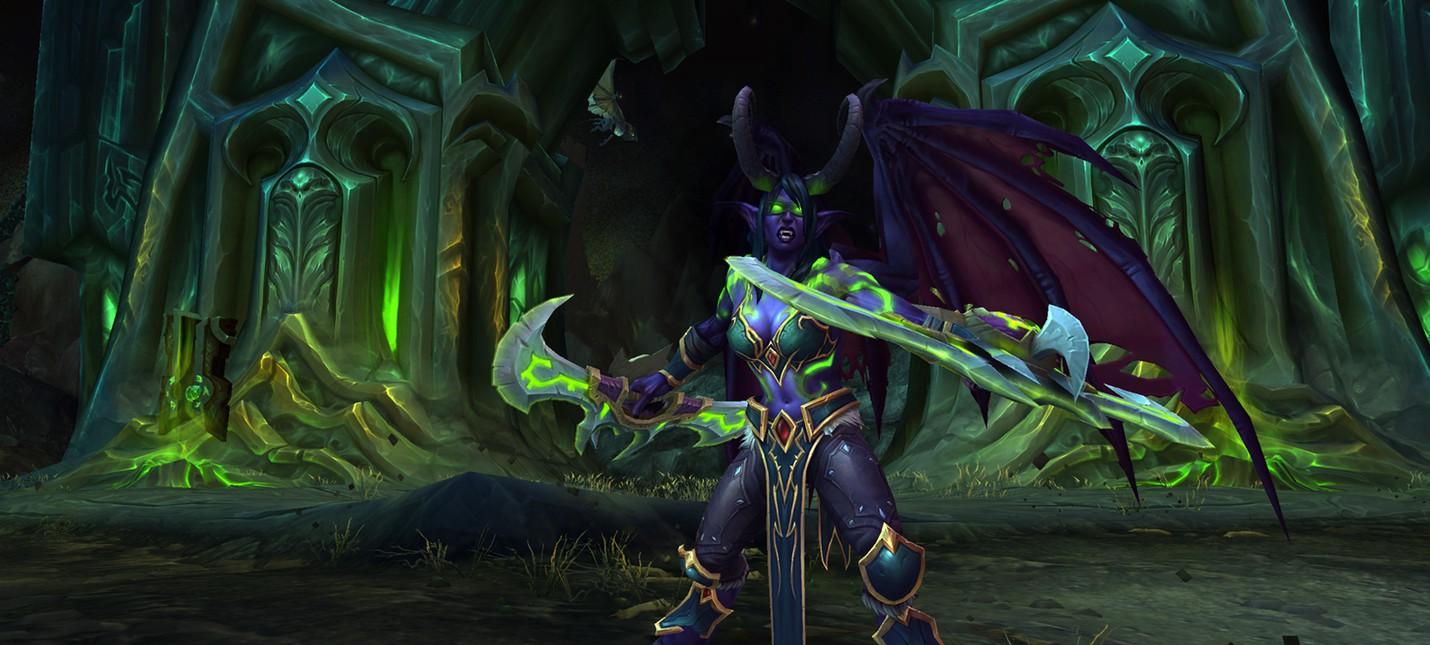 Охотник на демонов доступен для игры в World of Warcraft
