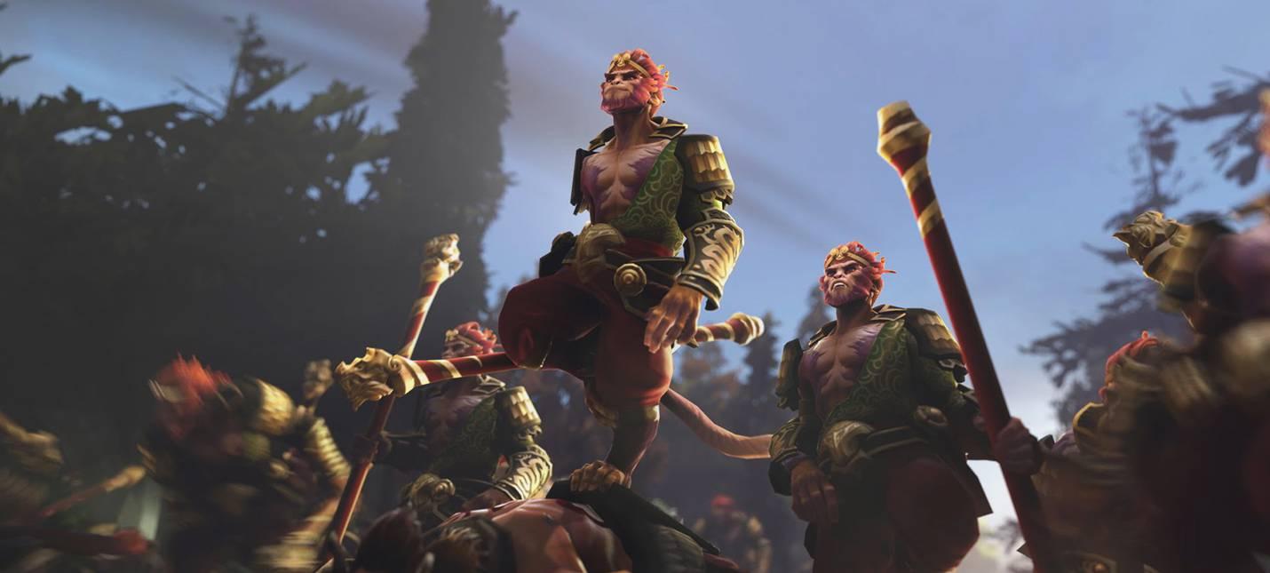 Valve анонсировала двух новых героев Dota 2: Underlord и Monkey King