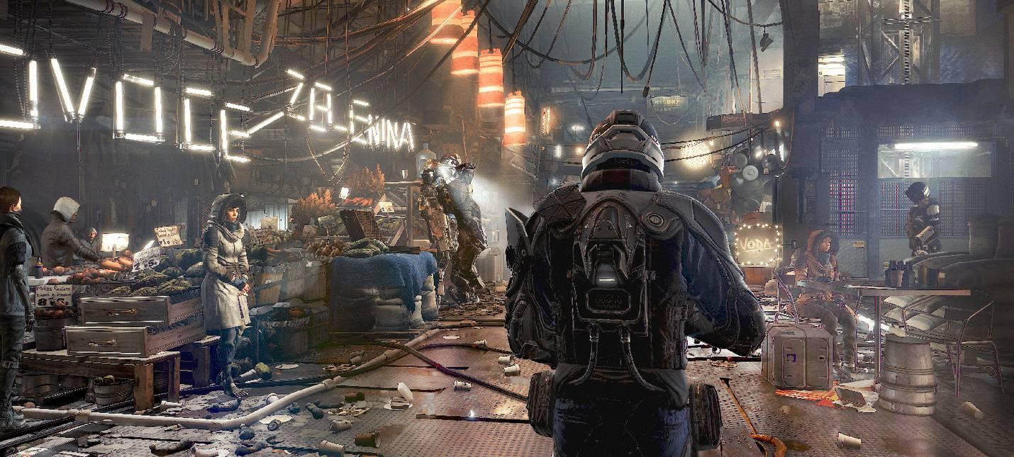 Deus Ex: Mankind Divided - локация Прага