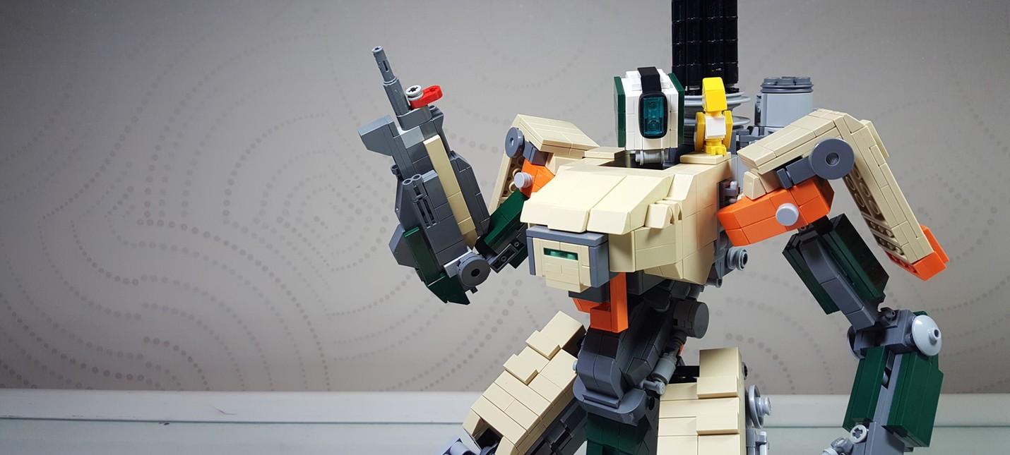 LEGO-Бастион из Overwatch