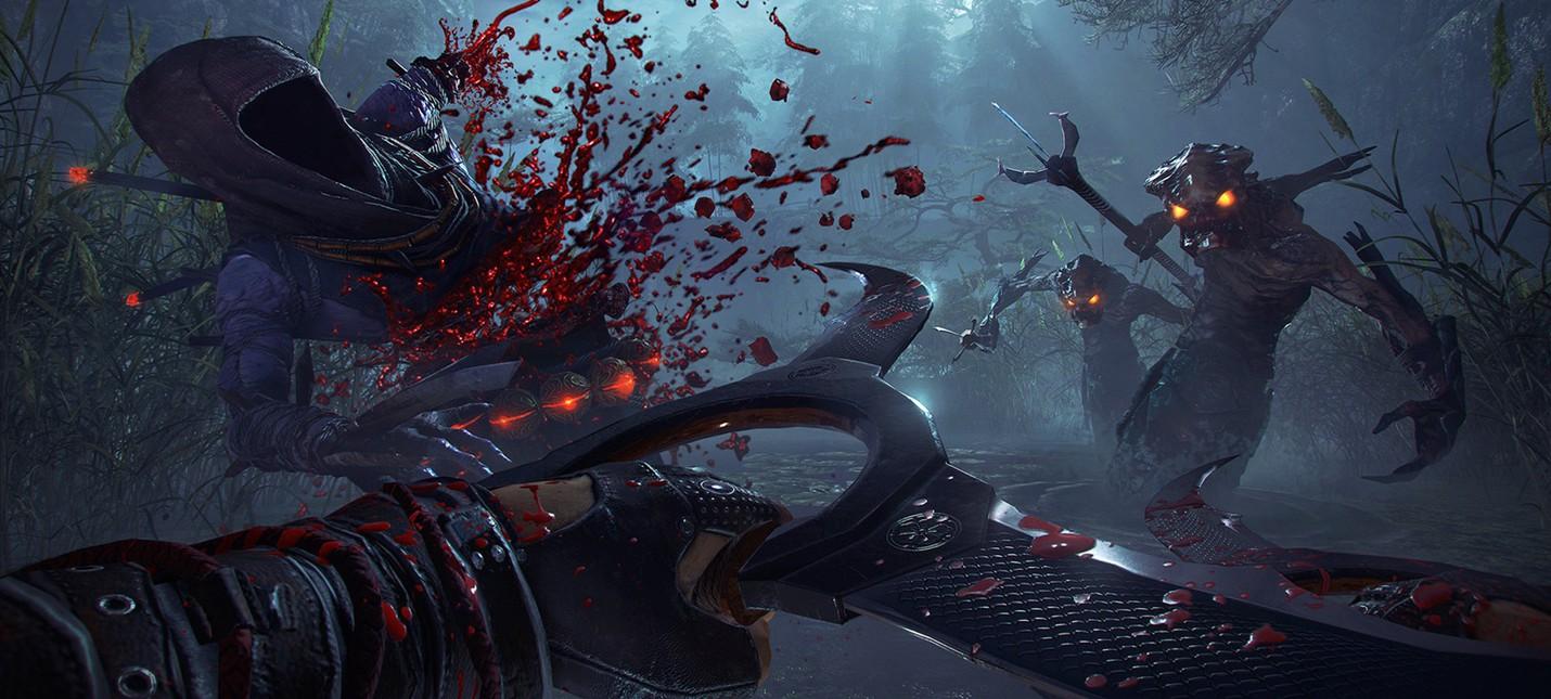 Меч-бензопила в новом геймплее Shadow Warrior 2