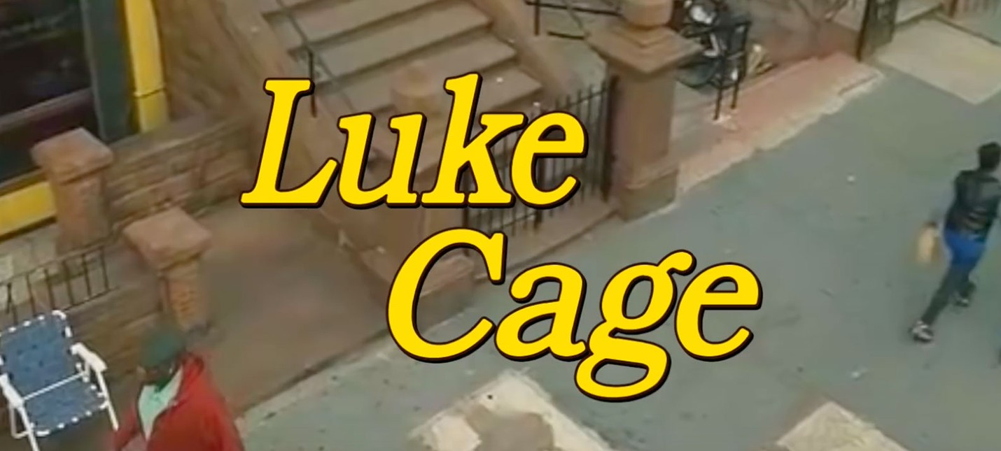 Интро Luke Cage в стиле семейной комедии