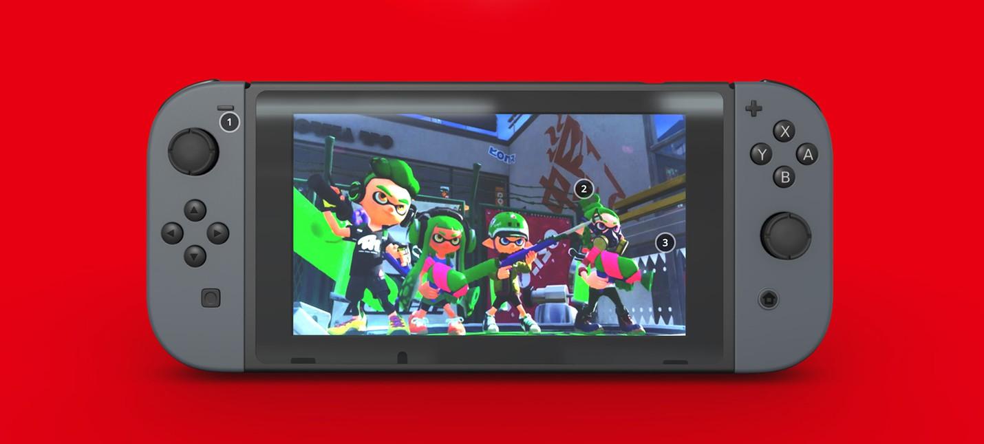 Рассмотрите Nintendo Switch в 3D