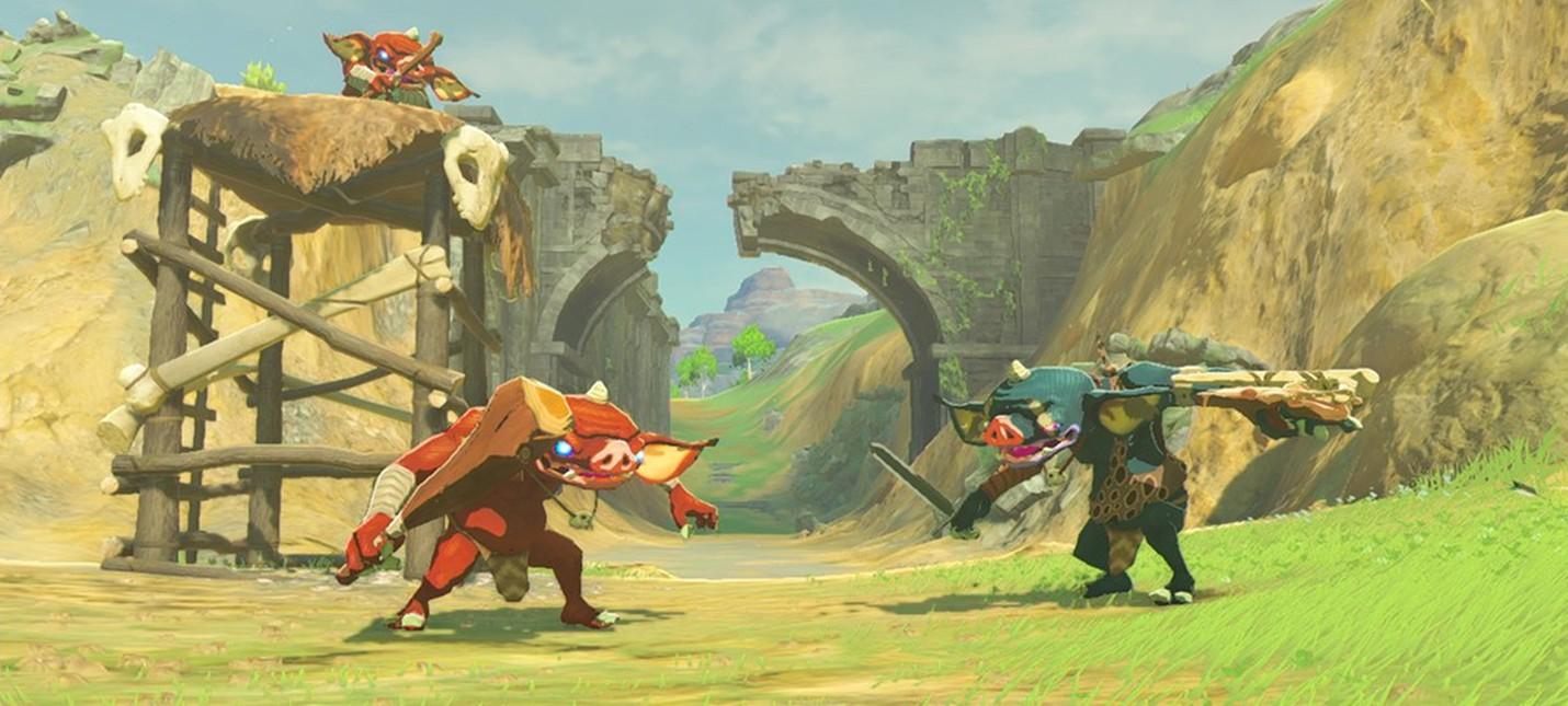 Все возможности The Legend of Zelda: Breath of the Wild в 40 минутах нового геймплея