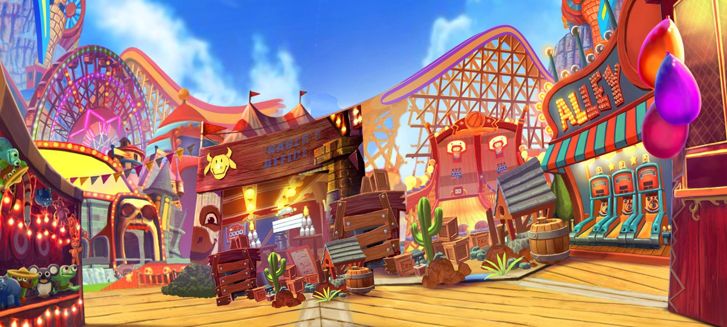 Час геймплея VR проекта Carnival Games