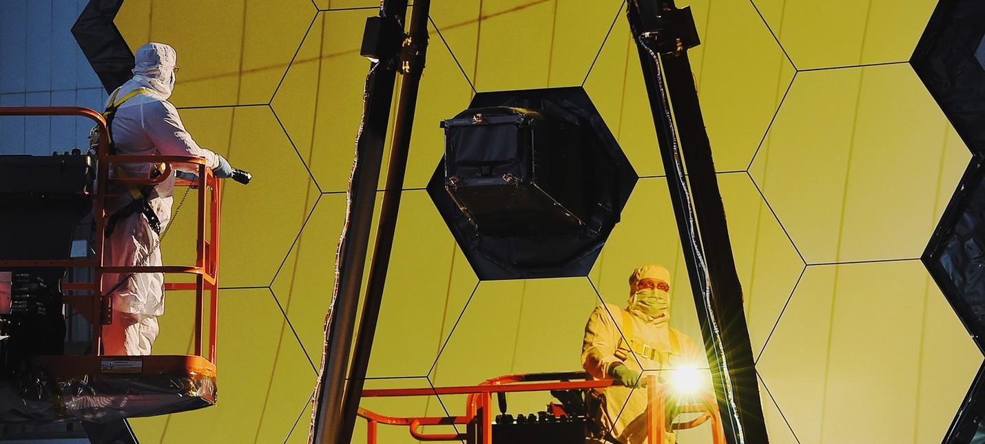 Новый самый мощный телескоп NASA собран