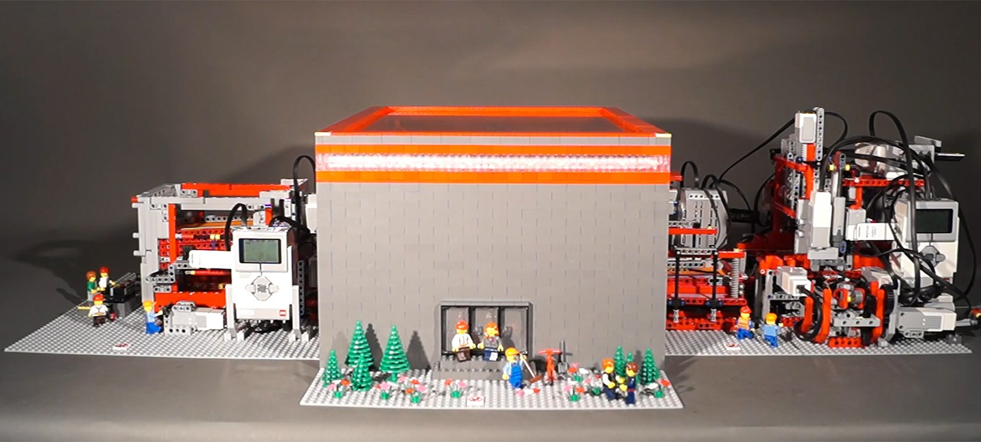 Как сделано Лего 208