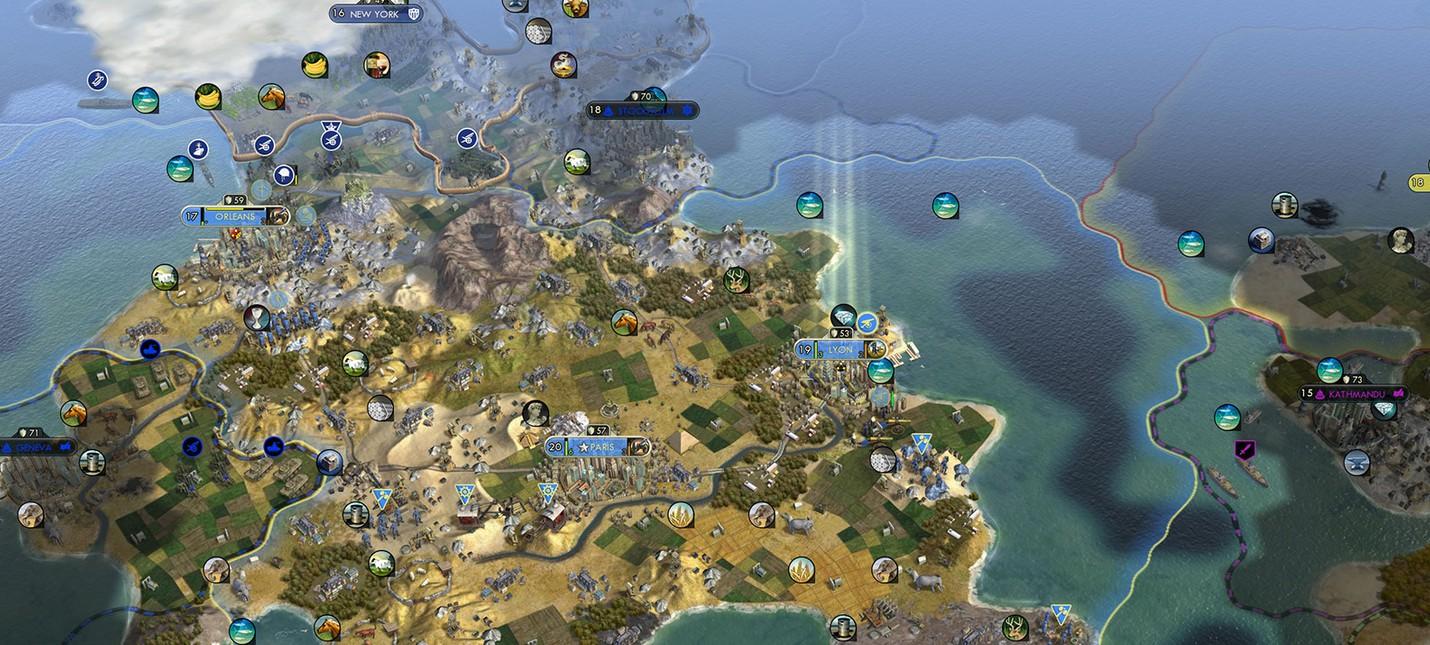 Игроки создали правительство для управления цивилизацией в Civ 5