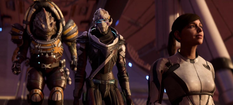 Драк и Ветра — новые компаньоны в Mass Effect Andromeda