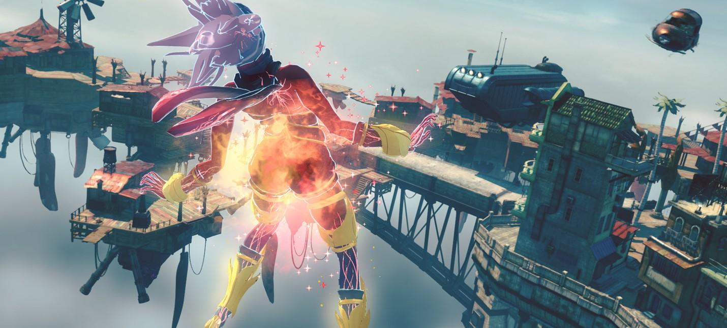 Боевая система и фото-режим в новом геймплее Gravity Rush 2