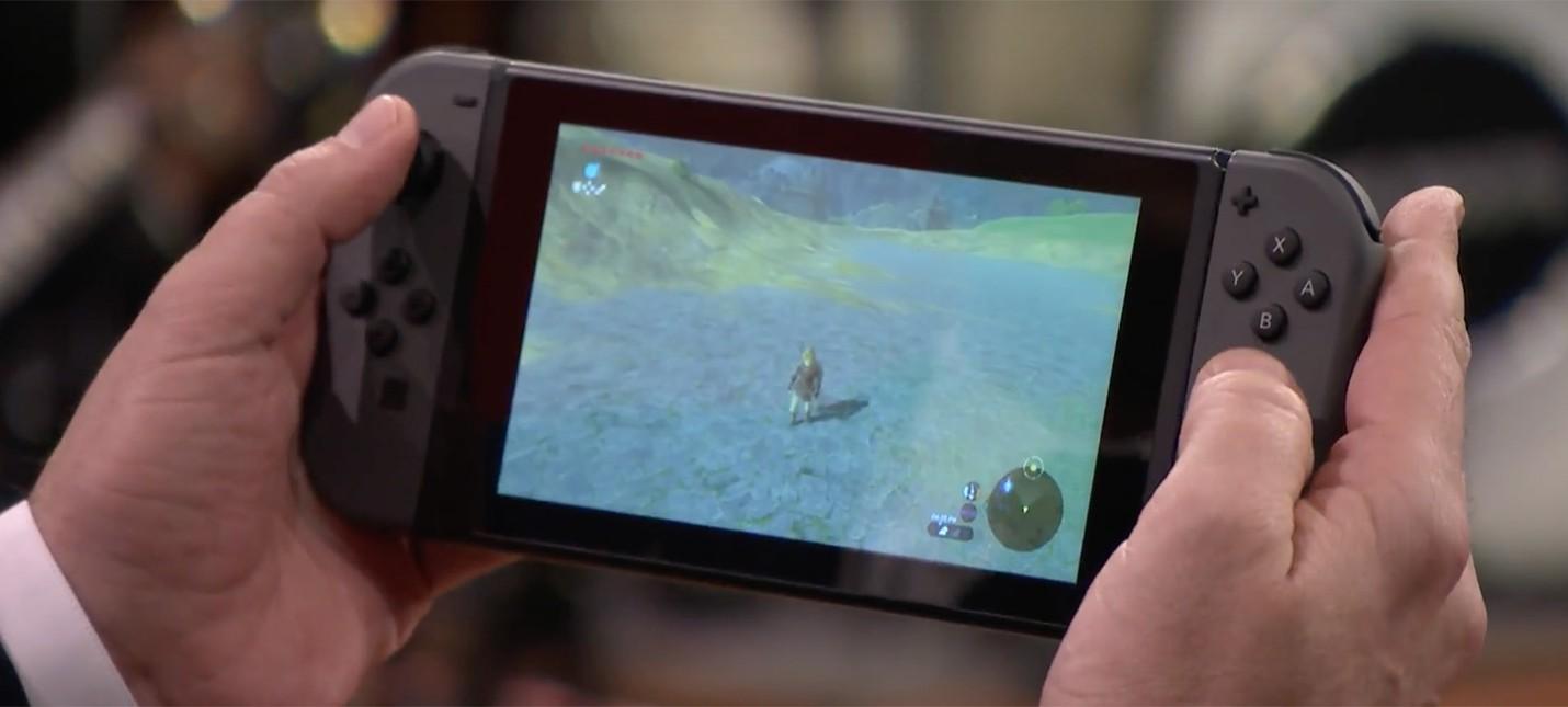Джимми Фэллон поиграл в новую Zelda на Nintendo Switch